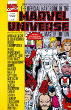 Keith Pollard - The Official Handbook of the Marvel Universe Master Edition - #13