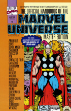 Keith Pollard - The Official Handbook of the Marvel Universe Master Edition - #14