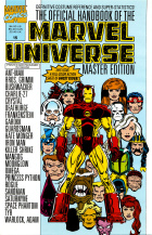 Keith Pollard - The Official Handbook of the Marvel Universe Master Edition - #15