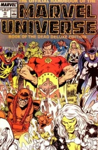 Joe Rubinstein - The Official Handbook of the Marvel Universe Deluxe Edition - #18 : Book of the dead