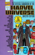 Keith Pollard - The Official Handbook of the Marvel Universe Master Edition - #24