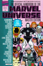 Keith Pollard - The Official Handbook of the Marvel Universe Master Edition - #31