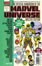 Keith Pollard - The Official Handbook of the Marvel Universe Master Edition - #32