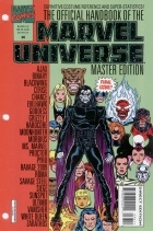 Keith Pollard - The Official Handbook of the Marvel Universe Master Edition - #36