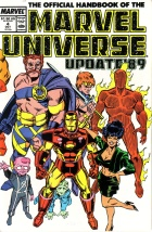 Bob Layton - The Official Handbook of the Marvel Universe Update '89 - #4