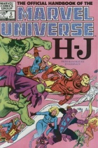 Mike Mignola - The Official Handbook of the Marvel Universe - #5 : H-J from Hangman to Juggernaut
