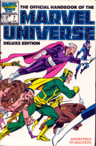 Joe Rubinstein - The Official Handbook of the Marvel Universe Deluxe Edition - #7 : Koryphos to Magneto