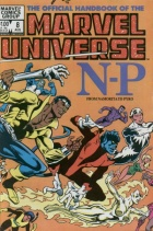 Joe Rubinstein - The Official Handbook of the Marvel Universe - #8 : N-P from Namorita to Pyro
