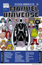 Keith Pollard - The Official Handbook of the Marvel Universe Master Edition - #9