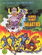 Alors vint Galactus - more original art from the same book