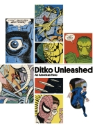 Ditko Unleashed, An American Hero - more original art from the same book