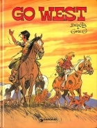 Go West - more original art from the same book