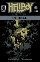 Hellboy in Hell #4 - more original art from the same book