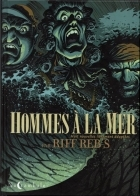 Hommes à la mer - more original art from the same book