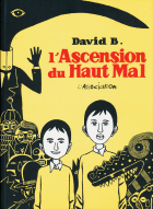 L'Ascension du Haut Mal - more original art from the same book