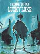 L'Homme qui tua Lucky Luke - more original art from the same book