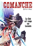Le Ciel est rouge sur Laramie - more original art from the same book