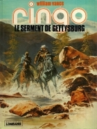 Le serment de Gettysburg - more original art from the same book