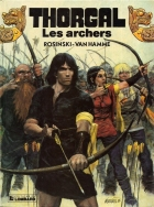 Les archers - more original art from the same book