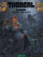 Louve - more original art from the same book