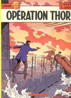 Opération Thor - more original art from the same book