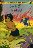 Sur la Piste de Mowgli - more original art from the same book