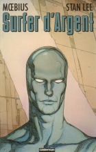 Surfer d'Argent - more original art from the same book