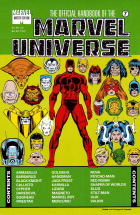Keith Pollard - The Official Handbook of the Marvel Universe Master Edition - #7