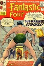 Jack Kirby - Fantastic Four (1961) - The Sub-mariner strikes !