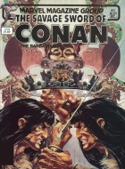 Rudy Nebres - Savage Sword of Conan The Barbarian (The) (1974) - The world beyond the mists!