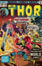 Joe Sinnott - Thor (1966) - This Is the Way the World Ends!