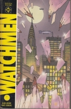 Watchmen - more original art from the same book