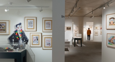 Exhibitions at the Cartoon Museum of London