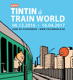 Tintin à TRAIN WORLD