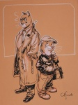 Guarnido - Blacksad - Sketch 1