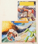 Dan DARE - Planche 1 - the ship that lived