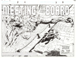 NAMOR THE SUB-MARINER: MEETING OF THE BOARD DOUBLE-PAGE SPLASH
