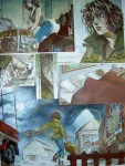 Planche ORIGINALE MARGOT TOME 1