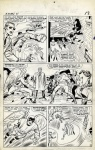 X-Men 11- page 10- Jack Kirby and Chic Stone