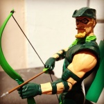 Figurine Green Arrow basée sur un design d'Alex Ross (photo prise par The Alex Ross Collector)