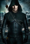 Green Arrow interprété par Stephen Amell dans la série Arrow
