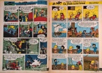 Publication en pages centrales du Journal Spirou de 1959