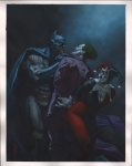 Batman, The Joker and Harley Quinn