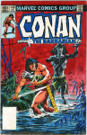 Conan the Barbarian # 149 unpublished cover color guide