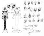 The Wake 'The Monster' character design and studies by Sean Murphy
