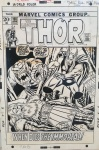 Thor 198-Cover by Buscema and Sinnott