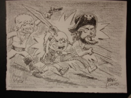 Lizano Marc - Le Pirate couve la grippe - illustration (1)