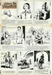 Hal FOSTER: PRINCE VALIANT (9/3/67)