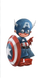 Little Captain America