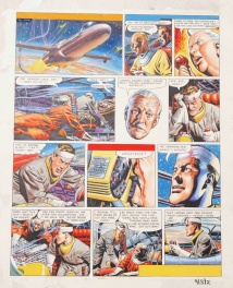 Dan DARE - planche 2 - The ship that lived